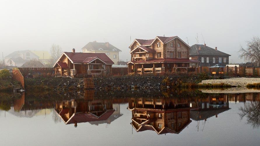 Дом и баня в Старопышминске