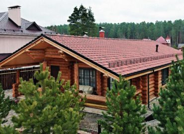 деревянный дом-баня